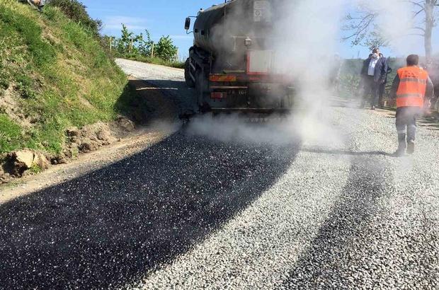 Ordu'da asfalt konforu