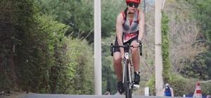 Bodrum'da triatlon yarışı düzenlendi Önce yüzdüler sonra bisiklete binip ardından koştular