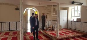 İzmir'de camilere korona virüsüne karşı hijyen denetimi