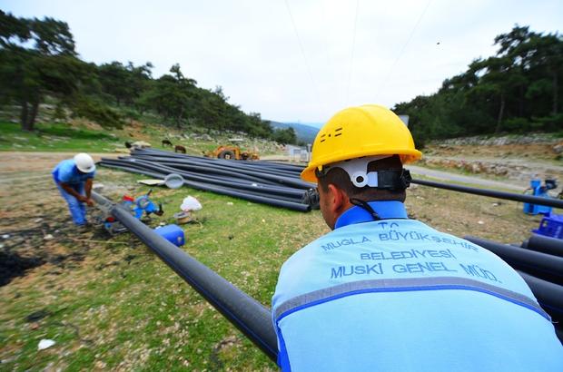 Milas'ın Altyapısına 269 Milyon TL Yatırım Muğla Büyükşehir Belediyesi MUSKİ Genel Müdürlüğü tarafından 2014-2020 yılları arasında Milas'a 108 milyon 901 bin TL'lik altyapı yatırımı yapıldı.