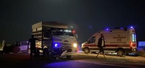 Şanlıurfa'da kamyonet ile otomobil çarpıştı: 1 yaralı