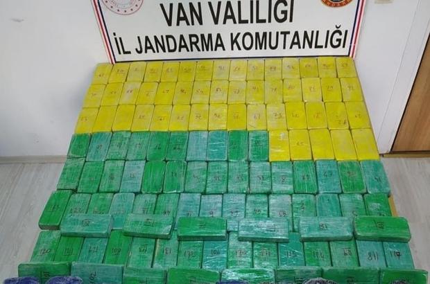 Van'da 80 kilogram eroin ele geçirildi