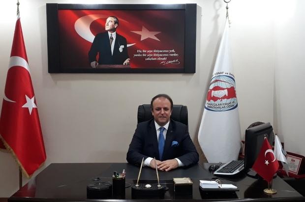 """Trabzon İnşaatçılar ve Emlakçılar Odası Başkanı Taflan: """"Tam kapanmada şartları uyan inşaat çalışanları faaliyetlerini sürdürebilecekler"""""""