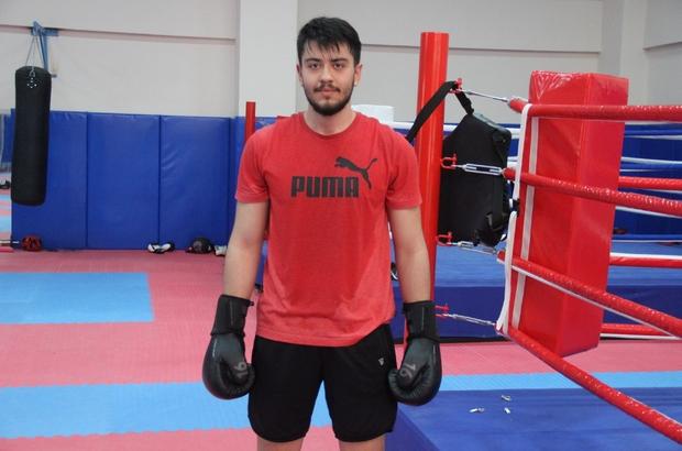 16 yaşında 120 kiloydu, boksla 30 kilo verdi, kendine Milli Takım hedefi koydu