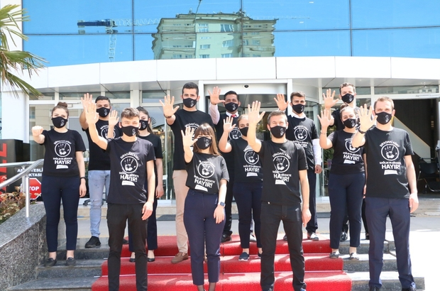 Gaziantep'te Sağlıkçıya Şiddete Hayır Günü etkinliği
