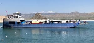 Tunceli-Elazığ feribot seferlerine kısıtlama düzenlemesi