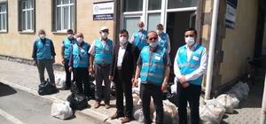 Türk Diyanet Vakfı'ndan 100 Tomarzalı aileye iaşe paketi