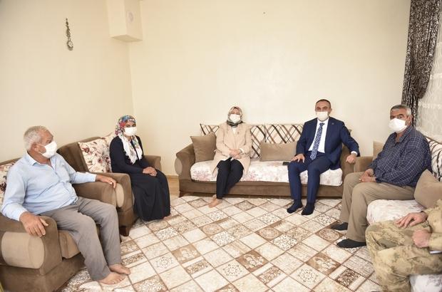 Vali Soytürk şehit aileleri ile bir araya geldi