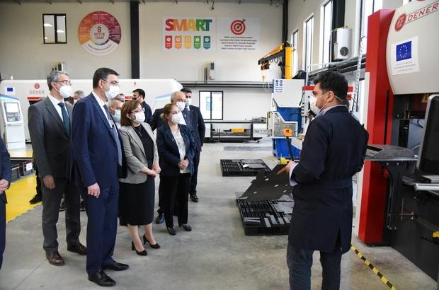 Gaziantep Büyükşehir Belediyesi ile GSO Model Fabrika'da iş birliğine gidiyor Başkan Fatma Şahin Model Fabrika'yı ziyaret etti