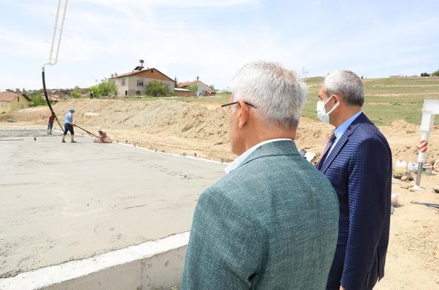 """Battalgazi'deki gençlik yatırımları sürüyor Güder: """"Bir eser siyaseti felsefesiyle çalışıyoruz"""""""
