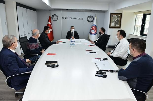 """Başkan Erdoğan kısıtlamadan etkilenecek üyeleri için toplantı gerçekleştirdi DTO Başkanı Erdoğan, üyelerine seslendi, """"Sorunlarınızın takipçisiyiz"""""""