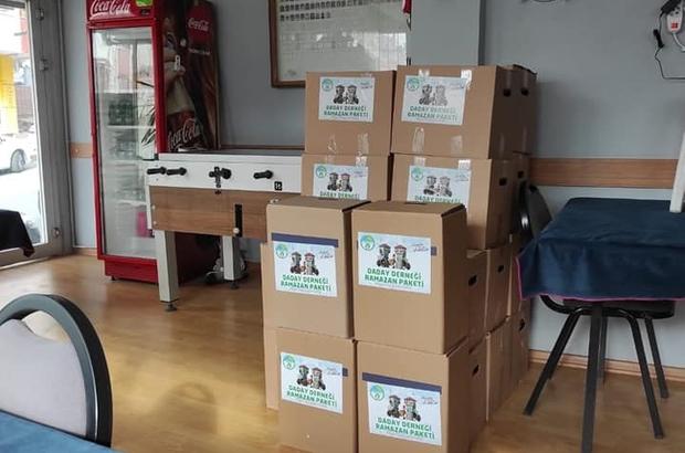 Daday Derneğinden 320 aileye erzak yardımı
