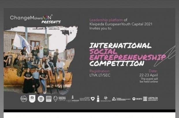 OMÜ Öğrencileri Litvanya'daki Uluslararası Sosyal Girişimcilik Yarışması'nda ikinci oldu