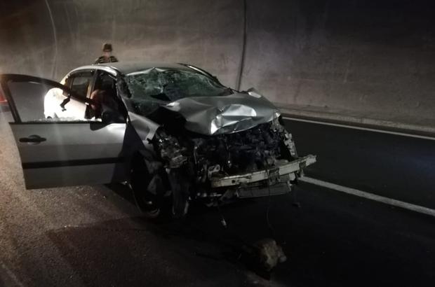 Erkenek Tüneli'nde kaza: 1 ölü