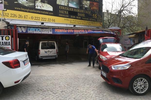 Kapanmada araçlarının temiz kalmasını isteyenler bakın soluğu nerede aldı? Kapanmaya saatler kala oto yıkamacı dükkanlarında yoğunluk yaşandı