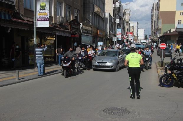 Sınır ili Kilis'te tam kapanma öncesi yoğunluk