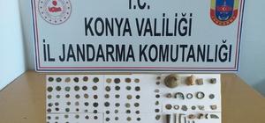 Konya'da 150 adet tarihi eser ele geçirildi
