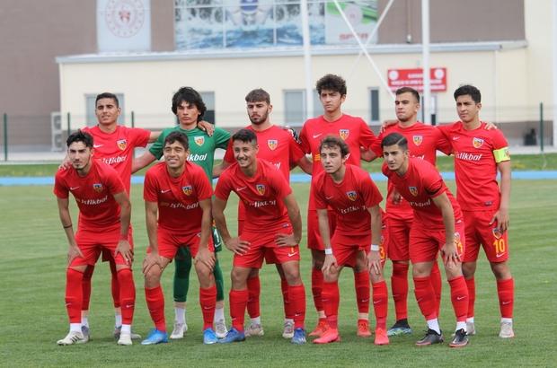 U19 Süper Ligi 9.Hafta Denizlispor-Kayserispor: 1-1