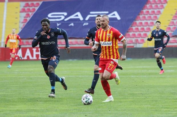 Kayserispor'un son 3 maç programı