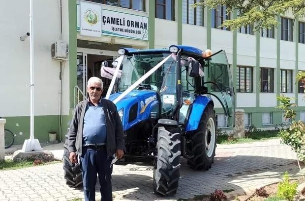 ORKÖY projesi ise çiftçi traktör sahibi oldu