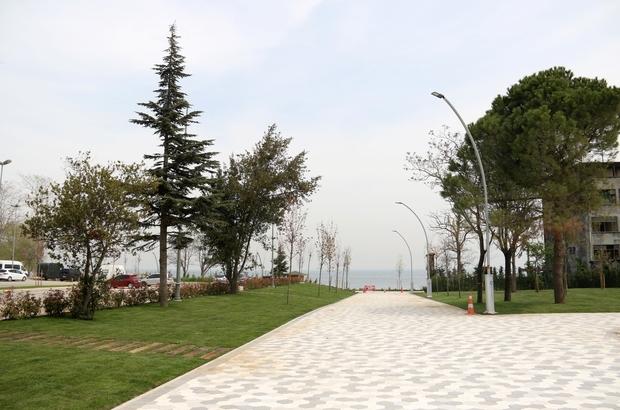 Darıca sahil parkına çevre düzenlemesi