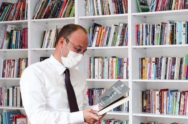 Kitap Kafe ile pandemide vatandaşlar kitapsız kalamayacak Pamukkale kitap kafe tam kapanmada da serviste