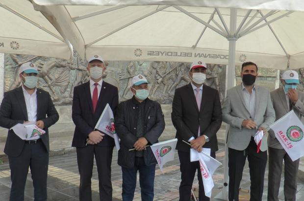 """HAK-İŞ Kayseri Şube Başkanı Şerhat Çelik: """"1 Mayıs dünyadaki tüm emekçilere kutlu olsun"""""""