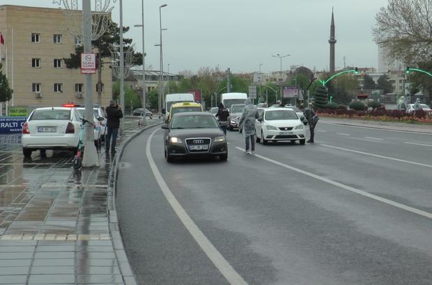 Kayseri'de tam kapanma denetimleri sürüyor