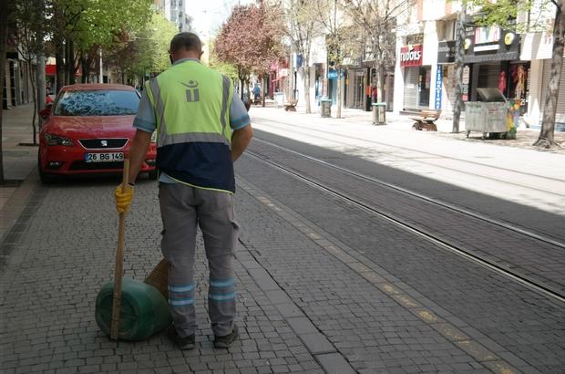 Doktorlar caddesi temizlendi