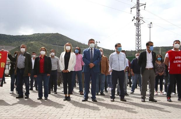 Başkan Sandal, emekçilerle 1 Mayıs'ı kutladı