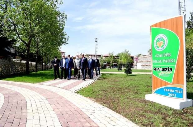 """Malatya'da kişi başına düşen yeşil alan miktarı artacak Gürkan: """"Malatya'da kişi başına düşen yeşil alan miktarını iki katına çıkarıyoruz"""""""