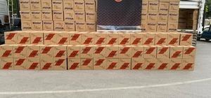 Gaziantep'te 10 günde 12 milyon 830 bin bandrolsüz makaron yakalandı