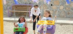 Başkan Filiz Ceritoğlu Sengel, miniklere verdiği park sözünü tuttu