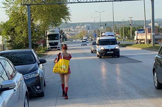 Ehliyetsiz sürücü kovalamaca sonucu yakalandı Kiraladığı araç ile kaçan sürücüye 9 bin 493 lira ceza uygulandı