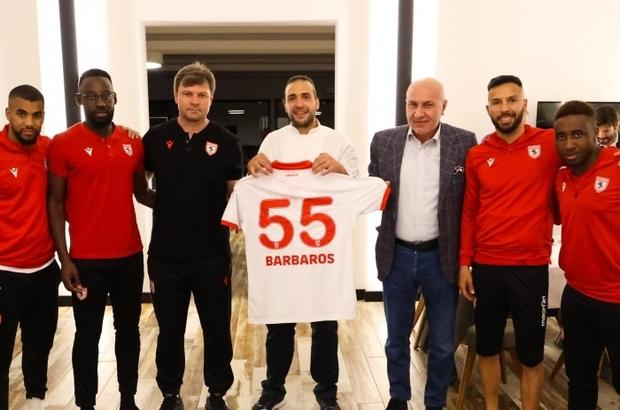 MasterChef Barbaros Samsunspor'a sunum yaptı