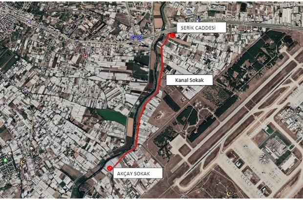 Kanal Sokak trafiğe kapatılıyor