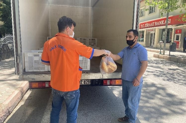 Pozantı'da halk ekmek gerginliği
