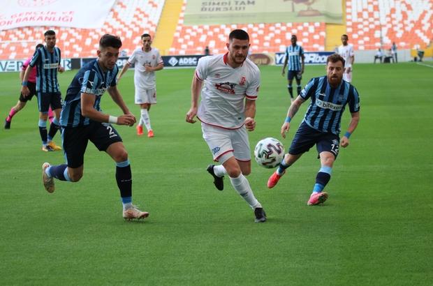 TFF 1. Lig: Adana Demirspor: 0 - Balıkesirspor: 0 (İlk yarı)