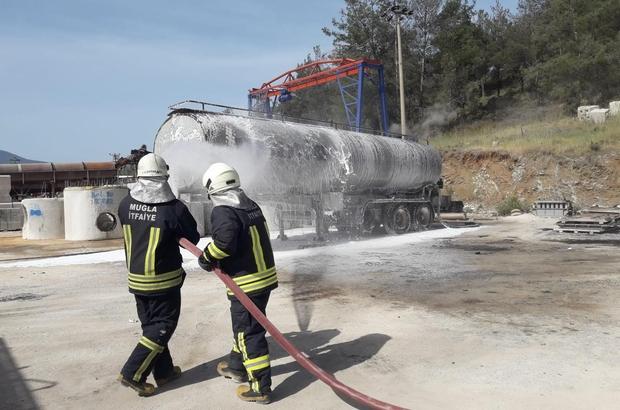Zift tankerindeki patlama yürekleri ağızlara getirdi