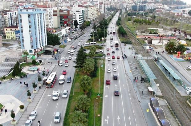Samsun'da 'Akıllı Şehir Trafik Güvenliği Projesi' ihale edildi