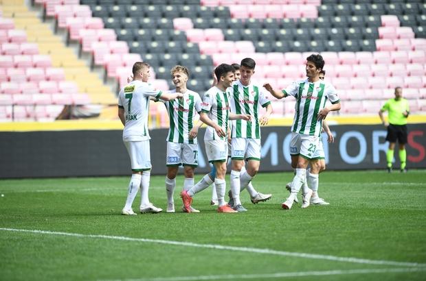 Bursaspor 5 yıl aradan sonra deplasmanda 5 gol attı