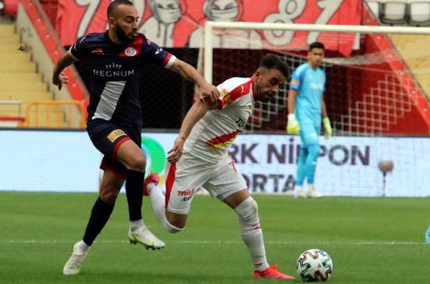 Süper Lig: FTA Antalyaspor: 1 - Göztepe: 1 (İlk yarı)