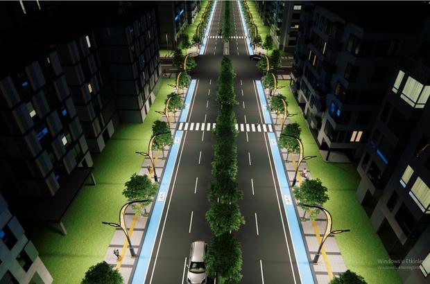 Erek Dağı Caddesi yenileniyor