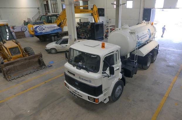 MUSKİ'nin tasarruf atölyeleri Muğla Büyükşehir Belediyesi MUSKİ Genel Müdürlüğü, 6 atölyesinde araç ve ekipman onarımlarını kendi personeli ile piyasa fiyatının çok daha altına yaparak tasarruf sağlıyor.
