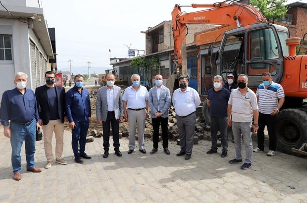 Turgutlu'da sanayi esnafını sevindiren çalışma Yıllardır yaşanan sorun çözüme kavuştu