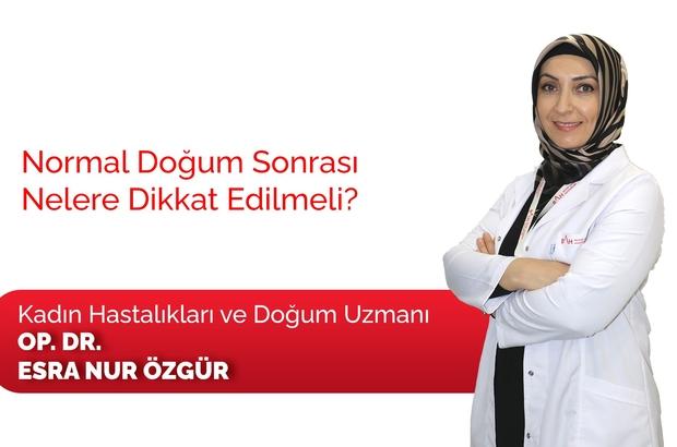 """Normal doğum sonrası dikkat edilecek hususlar Dr. Özgür: """"Doğum sonrası bol sıvı tüketin"""""""