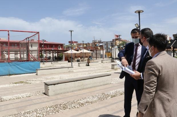 Turgutlu'da yatırım yapılacak alanlar incelendi