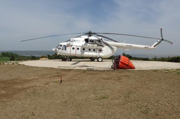 Çanakkale'de geçtiğimiz yıl 123 yangın çıktı, bin hektar alan yandı Çanakkale yangın sezonuna hazır