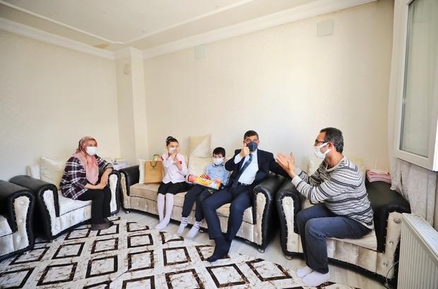 Merve Nur davet etti, Fadıloğlu ziyaret etti Fadıloğlu'ndan Merve Nur ve ailesine ziyaret