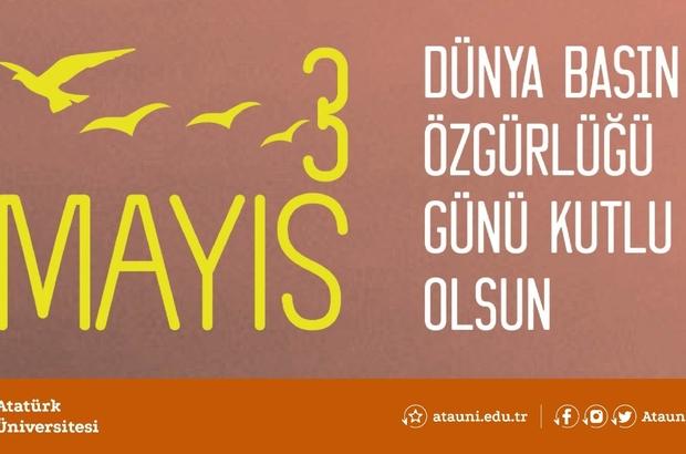 Rektör çomaklı'dan dünya basın özgürlüğü günü mesajı - Erzurum Haberleri